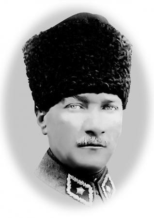 Karakalem Atatürk Portresi resim