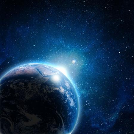 Kozmik Mavi Gezegen resim