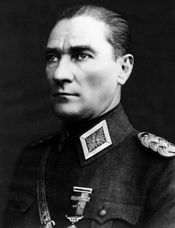 Mareşal Üniformalı Atatürk Portresi resim