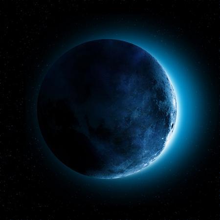 Mavi Ay resim