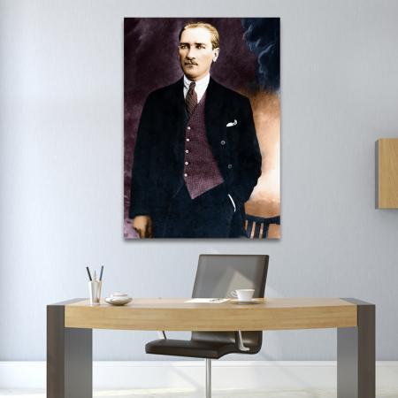Mustafa Kemal Atatürk Tablosu resim2