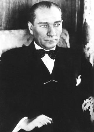 Papyonlu Atatürk Tablosu resim