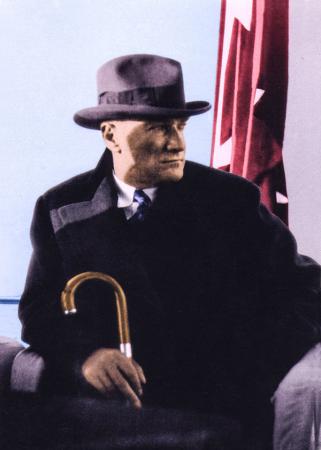 Renkli Atatürk 0