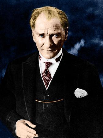 Renkli Atatürk Portresi resim