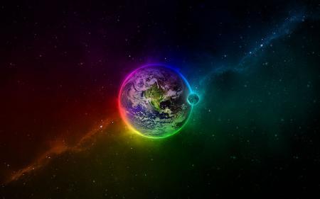 Renkli Dünya  resim