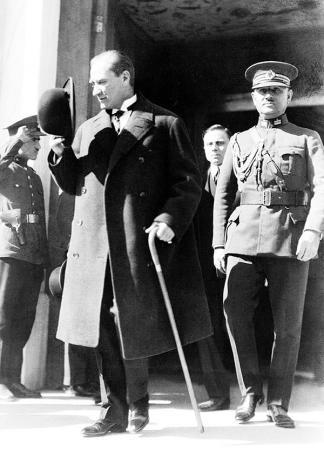 Siyah Beyaz Atatürk resim