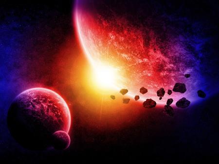 Uzay ve Asteroidlerde Planetler resim