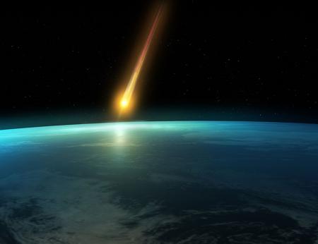 Yeryüzüne Düşen Göktaşı 0