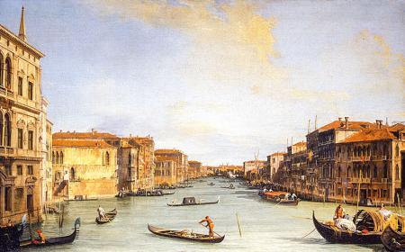 1800'de Venedik resim