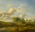 A Landscape with a Farm by a Stream k0