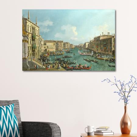 A Regatta on the Grand Canal resim2
