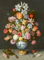 A Still Life of Flowers - UR-C-279