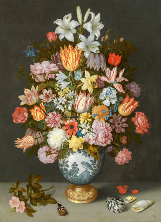 A Still Life of Flowers 0