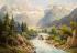 Alpler'de Nehir k0
