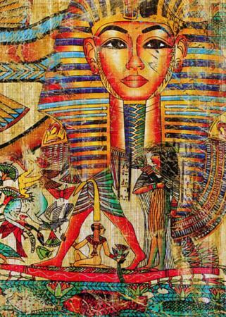 Antik Mısır Kolaj resim