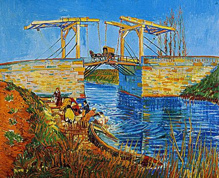 Arles Köprüsü - The Langlois Bridge at Arles 0