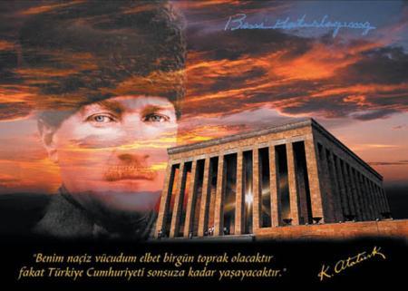 Atatürk ve Anıtkabir  resim
