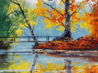 Autumn Lake - DM-C-052