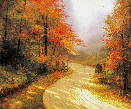 Autumn Lane resim