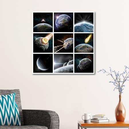 Ay - Patlama - Dünya - Galaksi resim2