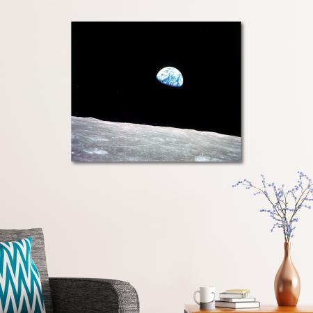 Ay'dan Dünya Görüntüsü resim2