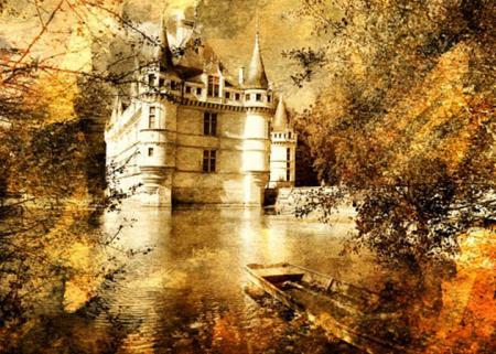 Azay Le Rideau Şatosu resim
