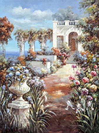 Bahçedeki Güller resim