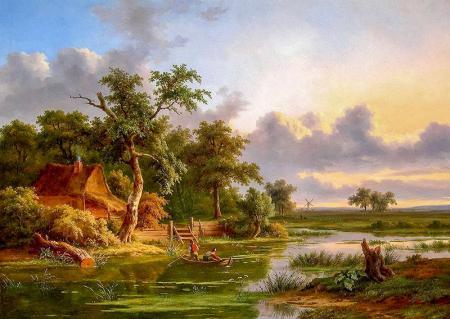 Balıkçı resim