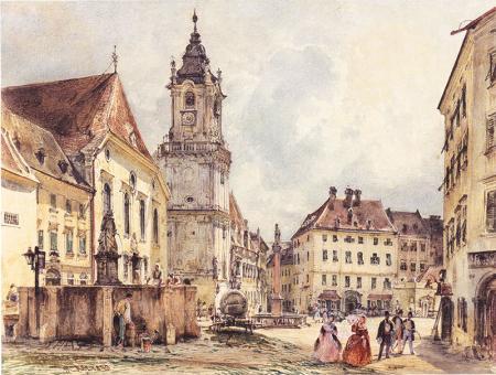 Bratislava'daki Ana Meydan resim
