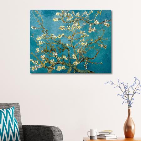 Çiçek Açan Badem Ağacı - Almond Blossoms resim2