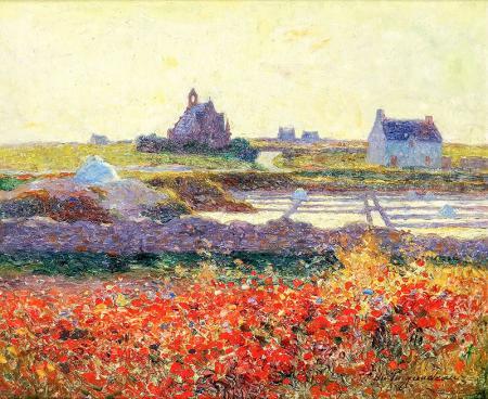 Çiftlik Manzarası resim