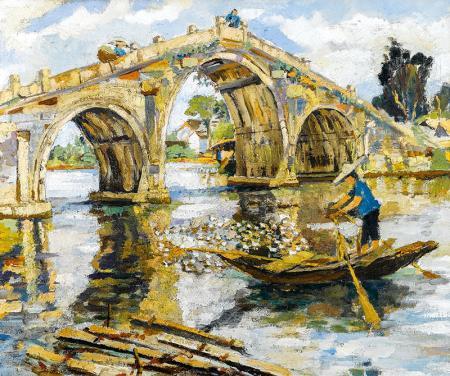 Derenin Üzerindeki Köprü resim