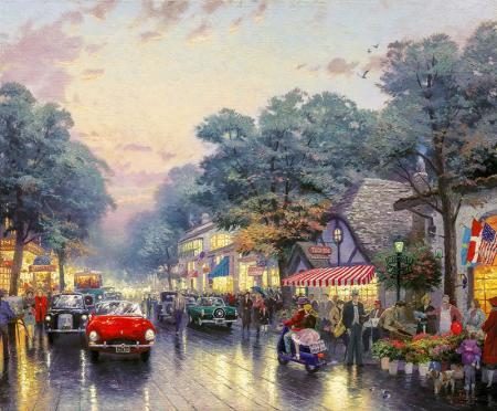 Dolmuş lokantalar ve Dolmuş caddeler resim