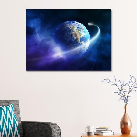 Dünya ve Halley Kuyruklu Yıldız  resim2