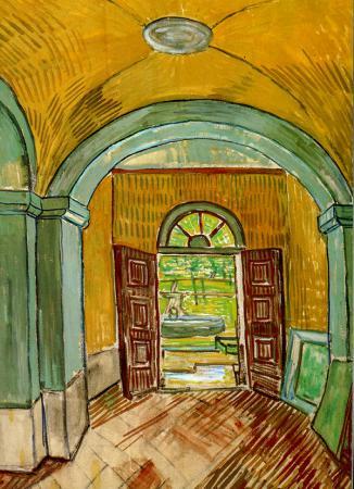 Entrance Hall of Saint-Paul Hospital resim