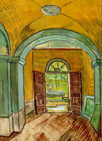Entrance Hall of Saint-Paul Hospital 0