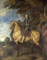 Equestrian Portrait of Charles I - UR-C-058