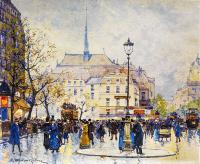 Eugene Galien Laloue Paris Caddeleri - SM-C-079
