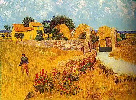 Farmhouse in Provence resim
