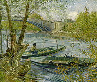 Fishing In Spring - UR-C-114