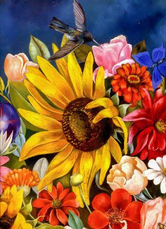 Flower Basket resim