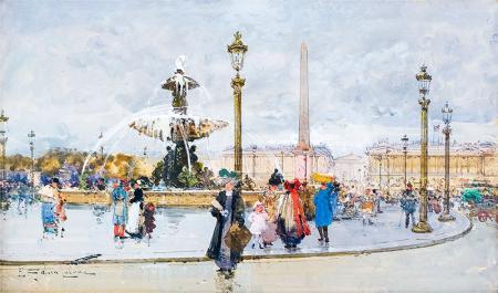 Fransa Concorde Meydanı resim