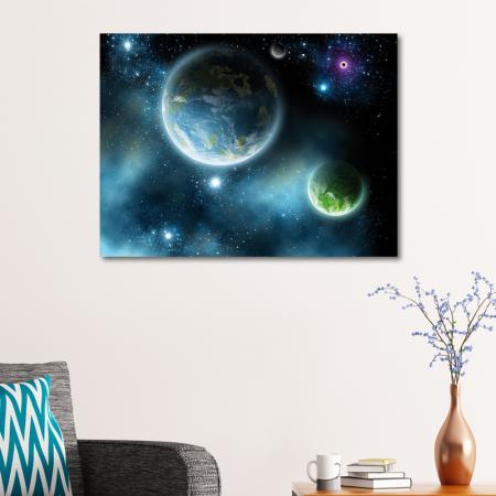 Galaksiler ve Harika Görünümlü Gezegenler resim2
