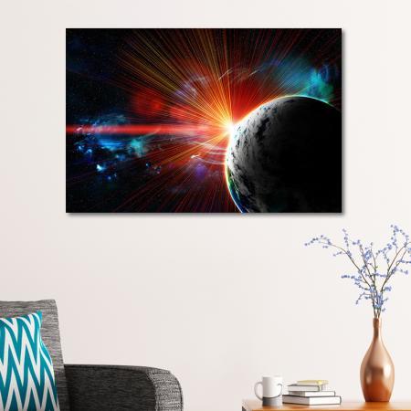 Gezegenler ve Kırmızı Nebula resim2