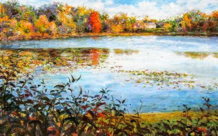Göl Kenarı resim