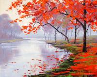 Göl Kenarındaki Ağaçlar - DM-C-035
