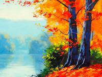 Göl Kenarındaki Ağaçlar - DM-C-037