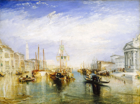 Grand canal venice turner 0
