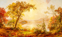 Greenwood Lake, Autumn on the Hudson  - DM-C-141
