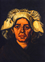 Head Of A Peasant Woman With White Cap - UR-C-095